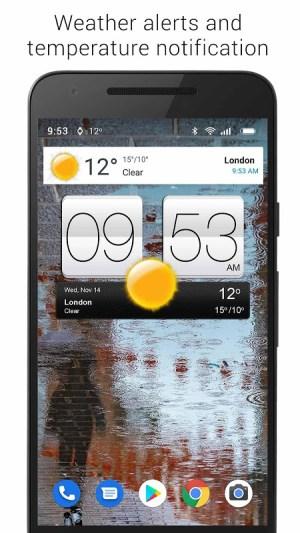 Sense V2 Flip Clock & Weather 5.50.0.1 Screen 12