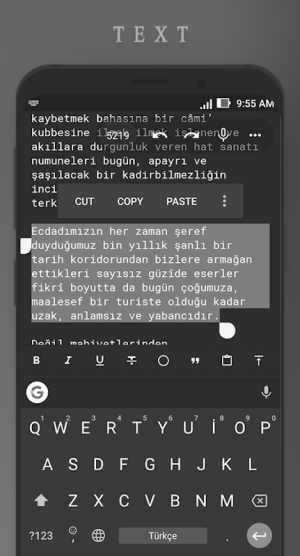 Android Writer Screen 3