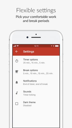 PomoDone App – Timer for your Task List and ToDo 1.5.18 Screen 4