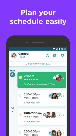 Waze Carpool - Ride together. Commute better. 2.24.0.4 Screen 3