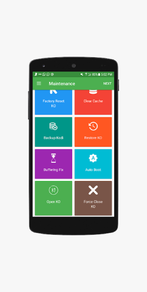 Android Configurator for Kodi - Complete Kodi Setup Wizard Screen 3