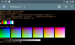 TermOne Plus - terminal emulator 3.2.4 Screen 2