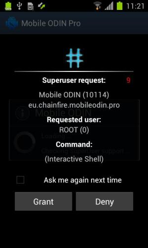 Android SuperSU Pro Screen 4