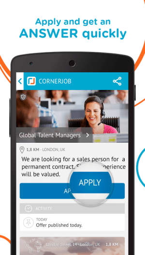 CornerJob - Find job offers 1.4.1 Screen 9
