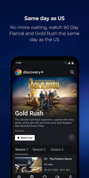 discovery+ 2.1.0 Screen 8