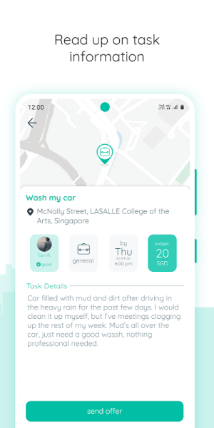 Outside - Post and Do Tasks! [Singapore Community] 2.9.50 Screen 1