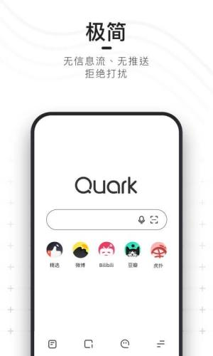Android Quark Browser - Ad Blocker, Private, Fast Download Screen 4