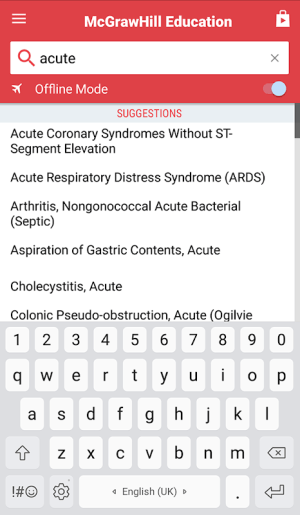 Android Quick Medical Diagnosis & Treatment Screen 18