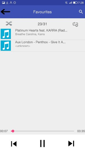 KD Music Player 2.1 Screen 6