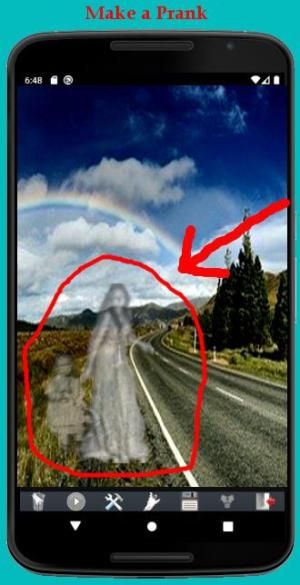 Android Ghost Photo Prank Screen 2