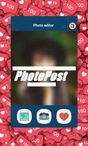 Android Get Followers and Likes for Instagram - PhotoPost Screen 1