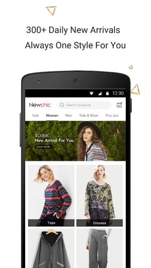 Newchic-Fashion Shopping Online 6.15.5 Screen 1