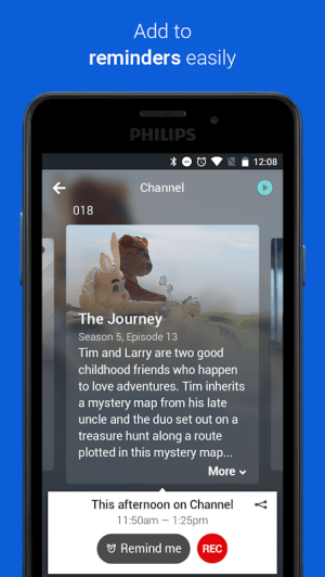 Philips TV Remote App 4.4.101 Screen 4
