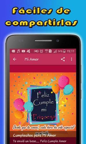 Android Feliz Cumpleaños Screen 8