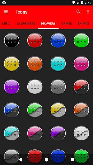 Half Light Cyan Icon Pack Free 2.3 Screen 2