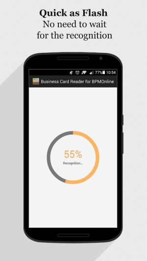 Android bpm'online CRM Business Card Reader Screen 12