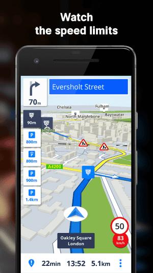 Sygic GPS Navigation & Offline Maps 18.7.12 Screen 7