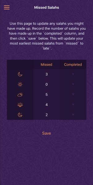 Salah Diary 1.4.0 Screen 2