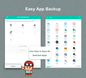 Backup & Restore 6.8.2 Screen 7