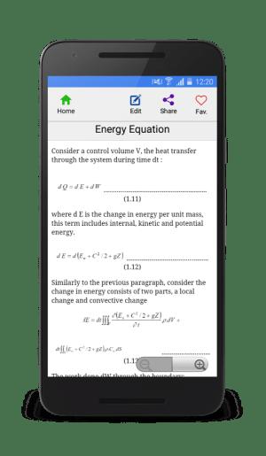 Android Fluid mechanics Screen 2