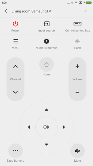 Mi Remote controller - for TV, STB, AC and more 5.8.4.9 Screen 2