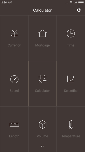 Mi Calculator 10.0.14 Screen 2