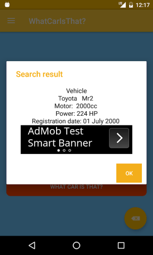 What Car Is That? 7.7.3 Screen 4