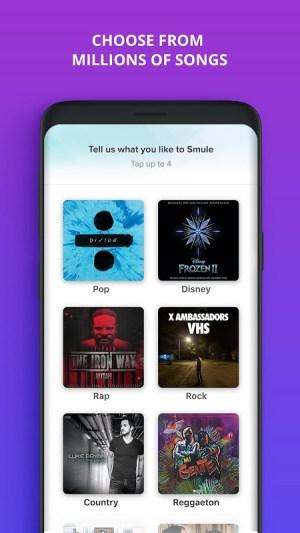 Smule - The Social Singing App 7.5.7 Screen 2