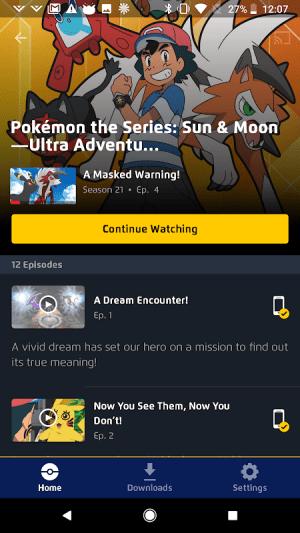 Pokémon TV 3.2.0 Screen 7