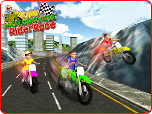 Kids MotorBike Rider Race 3D 1.0 Screen 12