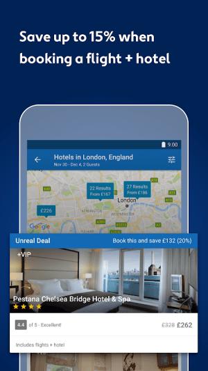 Expedia Hotels, Flights, Car Hires & Activities 18.43.0 Screen 9