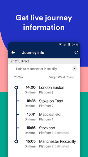 Trainline: Book Cheap Train Travel & Coach Tickets 82.0.0.42846 Screen 2