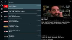 Android OTT Navigator IPTV Screen 1