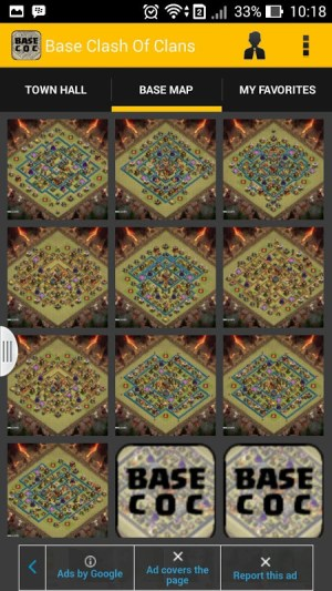 Base Clash Of Clans 1.0 Screen 2