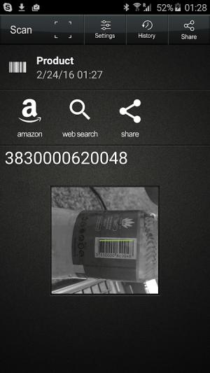 QR Code Reader 1.2.8 Screen 5