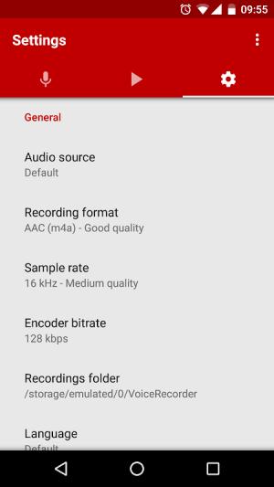 Voice Recorder 2.69 Screen 2