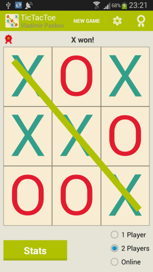 Tic Tac Toe 3.0.1 Screen 16