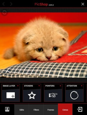 Android PicShop Lite - Photo Editor Screen 4