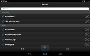 Android VLC Streamer Free Screen 3