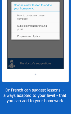Dr French, French grammar 1.0.10 Screen 18