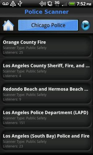 Police Scanner FREE 2.8 Screen 4