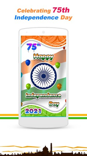 Android Indian Independence Day LWP Screen 1