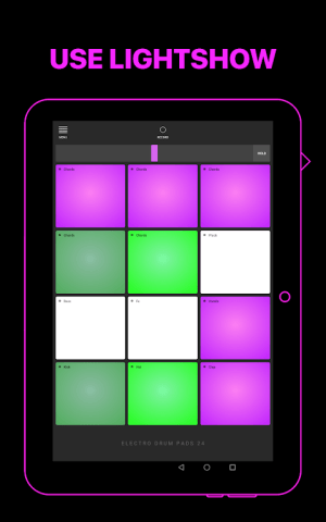 Android Electro Drum Pads 24 - Music & Beat Maker Screen 7
