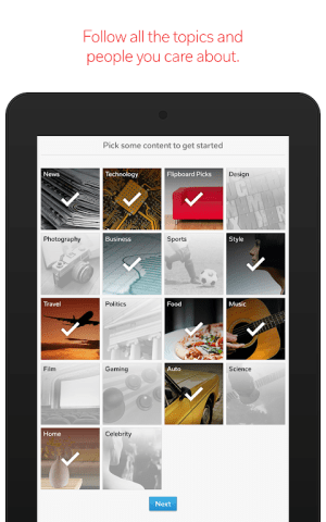 Flipboard: News For Any Topic 4.2.28 Screen 16