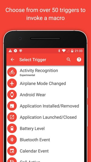 MacroDroid - Device Automation 4.9.6.1 Screen 1
