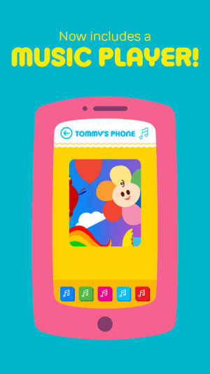 Android Play Phone for Kids - Fun educational babies toy Screen 2