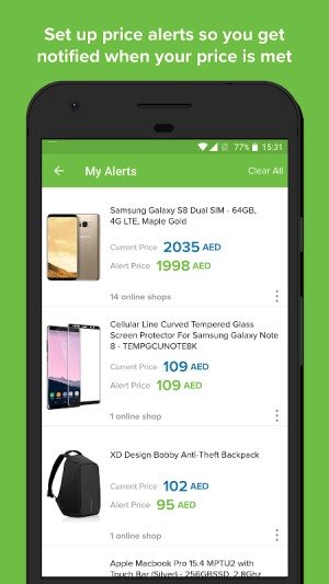 Android Pricena Shopping Comparison Screen 4