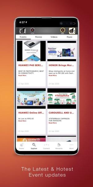 Android aforadio Screen 1