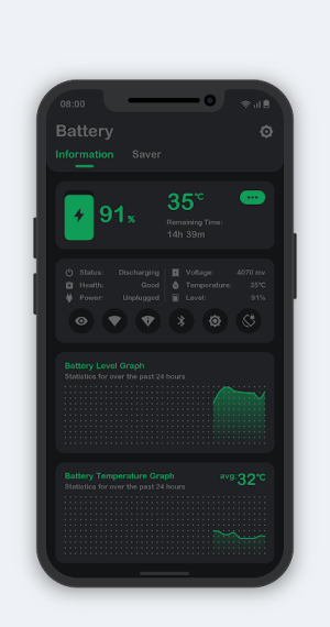 Battery Monitor 8.3.5 Screen 4