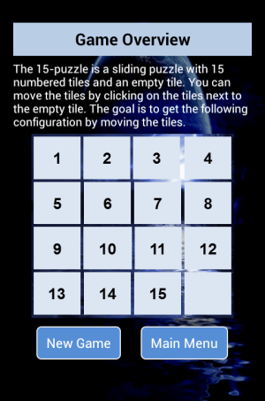 Android 15 Puzzle Screen 2